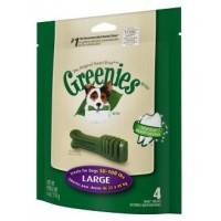 GREENIES Bolsa 170 gr. LARGE 4 Unid.
