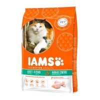 Iams cat Pollo Hairball 2,5 kg