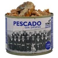 RETORN Comida Natural de Pescado con Patatas para perro 185gr