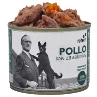 RETORN Comida Natural de Pollo con Zanahorias para perro 185gr