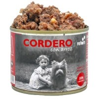 RETORN Comida Natural de Cordero con Arroz para perro 185gr
