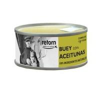 RETORN Buey con Aceitunas Latas para Gato 80gr