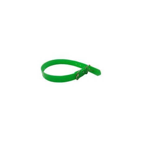 Collar Biothane 60cm Amarillo