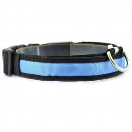 Collar LED Azúl
