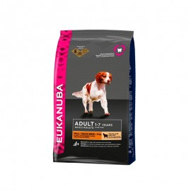 Eukanuba Dog Adult Cordero y Arroz Razas Pequeñas y Medianas 12kg