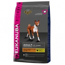 Eukanuba Dog Adult Mantenimiento Razas Medianas 12kg