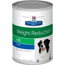 HILL´S Prescription Diet Canine r/d 350gr 12 latas