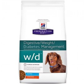 HILL´S Prescription Diet Canine w/d mini seco 6  kg