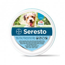 SERESTO Collar Antiparasitario perro hasta 8kg Larga duración