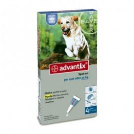 Advantix pipetas antiparasitarias 6x4ML para perros de más de 25kg