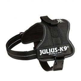 Arnés Julius-K9 Mini-Mini, S, 40-53 cm, Negro