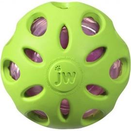 JW CRACKLE HEADS CRACKLE BALL PEQUEÑO