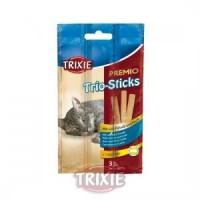 Premio Trio-Sticks, salmon/merluza, 9cm,3 uds/15 g