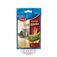 Premio Trio-Sticks, ave/hígado, 9 cm, 3 uds/15 g